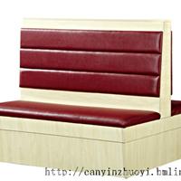 惠州快餐厅卡座沙发定做,快餐厅家具厂家