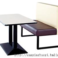 长沙快餐厅家具定制,快餐厅卡座沙发价格