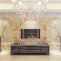 佛山汉恩瓷砖彩雕背景墙加盟