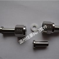 精品M20*1.5不锈钢压力表接头,仪表接头