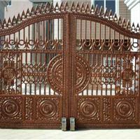 供应铸铝庭院遥控大门