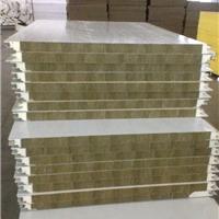供应新型聚氨酯封边岩棉彩钢夹芯板