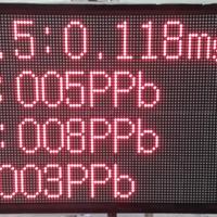 供应温湿度噪音扬尘LED大屏幕监测系统