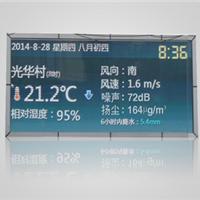 供应风速风向噪声PM2.5大屏幕显示检测系统