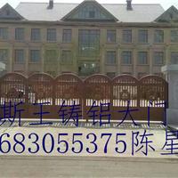 供应北京铸铝庭院门专业别墅庭院门