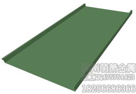 杭州萌萧金属矮立边铝镁锰钛锌板屋面墙面板