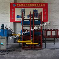 供应1500t框式导热油加热多缸框架硫化机