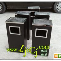 方形丽格垃圾桶-室内黑色不锈钢垃圾桶价格