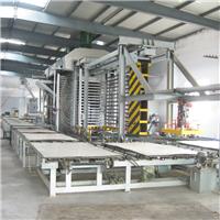 青岛国森机械制造木塑建筑模板成套加工设备