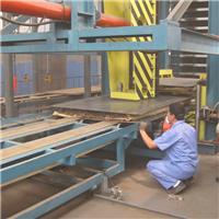 青岛国森利用废旧塑料生产木塑防潮板设备