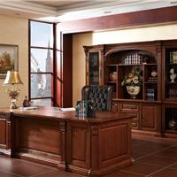 温莎公爵系列欧式实木班台 纯实木办公家具