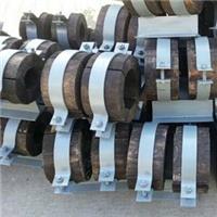 供应贵港防腐管道木托,支架,抱箍