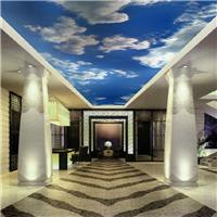 供应3D立体大型壁画  宾馆KTV卡通壁纸定制