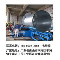 供应广西镀锌螺旋风管、白铁皮风管品质卓越