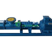 供应G型防爆不锈钢单螺杆泵配调速电机