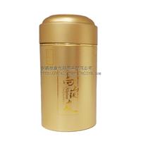 订制私版铁皮石斛铝罐厂家直销金属保健品罐