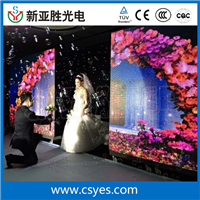 婚礼庆典活动专用LED全彩舞台背景显示屏