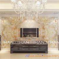 佛山汉恩供应陶瓷彩雕背景墙砖600*600 现货