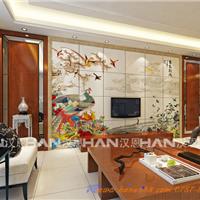 佛山汉恩供应陶瓷彩雕背景墙 抛光砖600*600