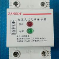 供应智森牌2P80A 100A自复式过欠压保护器