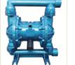 厂家QBY铝合金气动隔膜泵 耐腐蚀耐磨隔膜泵