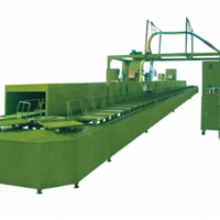 供应聚氨酯鞋底灌注发泡机环形生产线