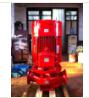 多级消防泵技术参数 3C认证多级消火栓泵