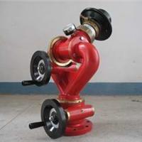 供应PS50手轮式涡轮蜗杆消防水炮