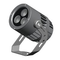 新款室内外led圆形投光灯圆形投射灯外壳12W