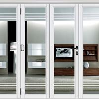 门窗十大品牌厂家提供中式折叠门