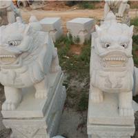 供应石雕狮子价格 花岗岩石雕狮子生产厂家