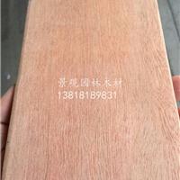 红柳桉木园林景观木材建材厂家定尺加工