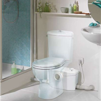 供应法国原装进口座便器马桶污水排污泵设备
