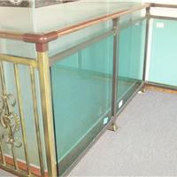 供应江西赣州热镀锌钢玻璃护栏
