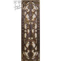厂家加工铝铜雕刻门花 门窗装饰配件