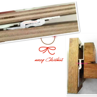 护墙板木饰面木饰板干挂铝合金挂条
