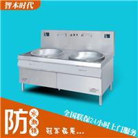 大功率商用电磁炉20千瓦双头大锅灶饭堂专用