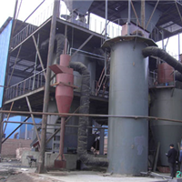 供应河北两段煤气发生炉工艺流程介绍