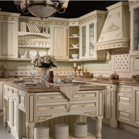 供应巴伦斯精品实木橱柜品牌红樱桃整体厨房