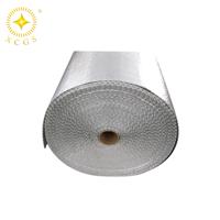 供应气体管道双面铝箔阻燃气泡保温材料