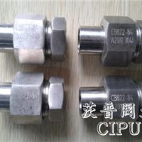 CB822-84高压管子螺纹接头
