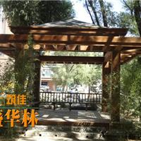 北京碳化防腐木凉亭
