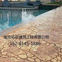 南京溧水混凝土压花地坪、六合压模地坪