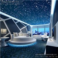 供应星空主题壁纸 ktv背景墙画夜空3D壁纸