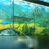 供应投影玻璃、LED发光玻璃、内雕发光玻璃