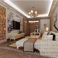 中式整体背景墙KJ-ZS-003:石韵清华