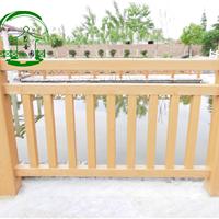 江苏泰州水泥仿木护栏仿木栏杆供应