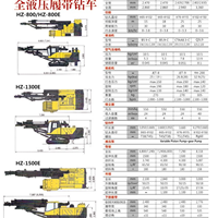 (HZ-800HZ-800E)全液压腹带钻车