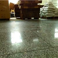 深圳厂房旧水磨石地坪翻新处理 光亮如镜