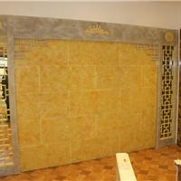 石材电视背景墙 凤凰玉艺术背景墙